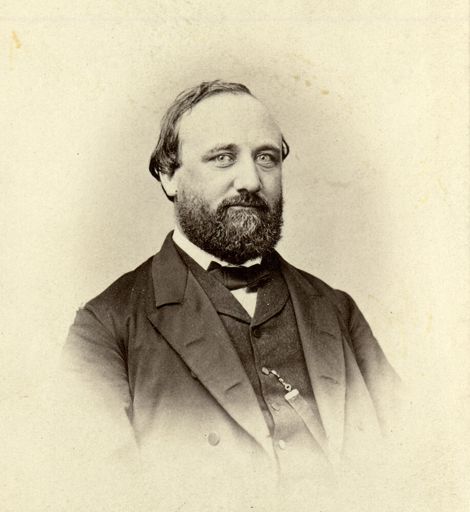 "A photo of George Q. Cannon, who is featured in the new ""Saints, Volume 2"" which was released Feb. 12, 2020."