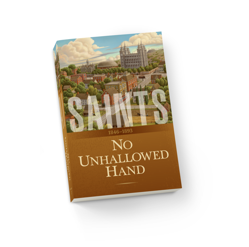 """Saints, Volume 2, No Unhallowed Hand, 1846-1893,"" which will be released on Feb. 12, is the second of the narrative four-volume Church history commissioned by the First Presidency."