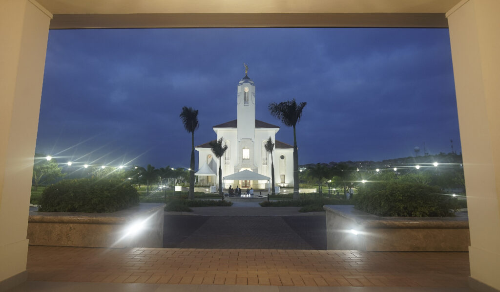 The Durban South Africa Temple in Umhlanga, South Africa, on Feb. 14, 2020.