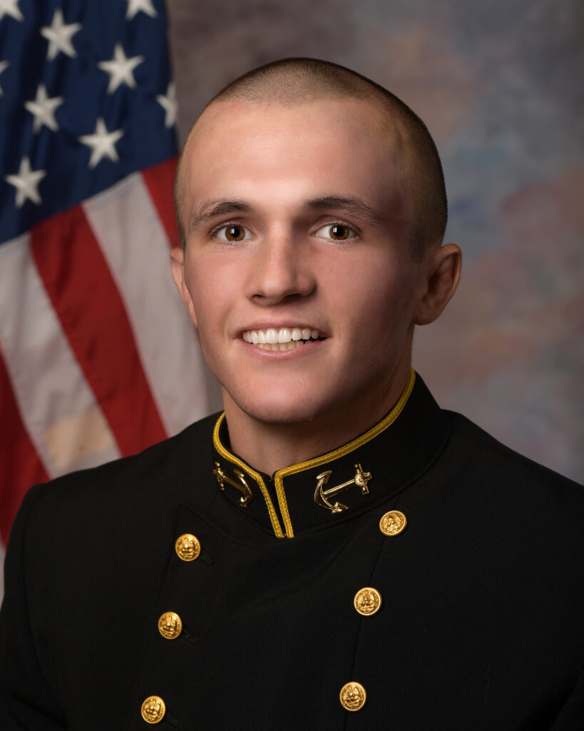 Wrestler Casey Cobb served a mission to Chile before accepting an appointment to the United States Naval Academy.