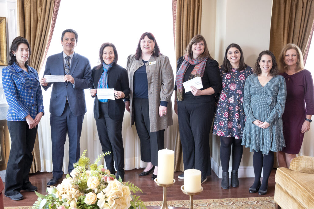 Charity representatives including Church World Service, UNICEF USA and WaterAid receive checks for a combined total of $3,260,267 on behalf of individuals around the world who chose to give to international organizations during the 2019 #LightTheWorld campaign. The collective distribution for global nonprofit organizations took place on Feb. 25, 2020, in New York City.