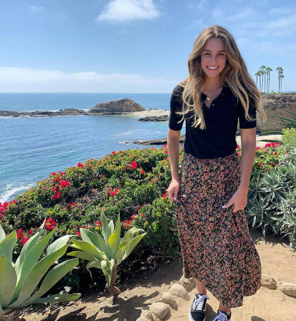 Lillie Taylor, 17, from San Clemente, California, is one of many Latter-day Saint youth preparing for the April general conference.
