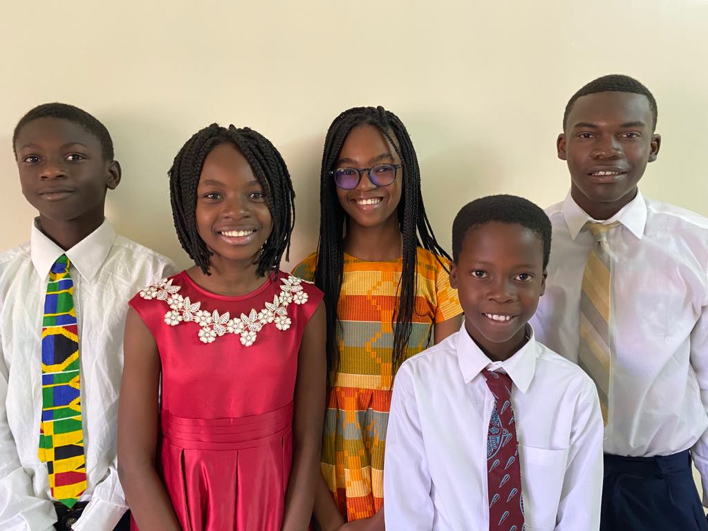 Youth from the Parcelles Branch in Senegal, Africa.