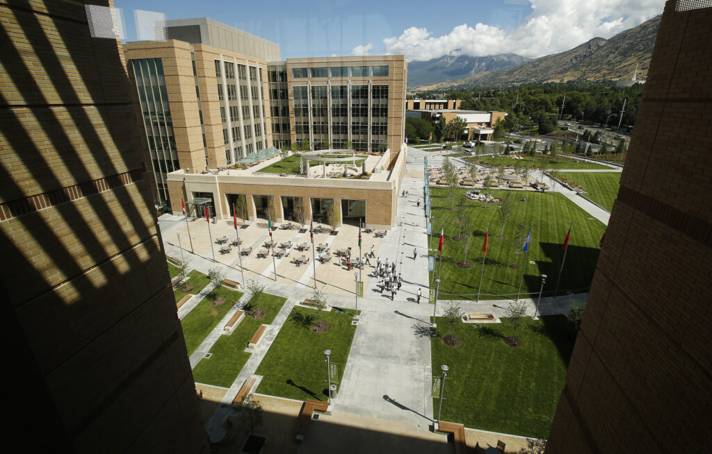 The Provo Missionary Training Center in Provo on Wednesday, July 26, 2017. The MTC can accommodate 2,200 elders and sisters.