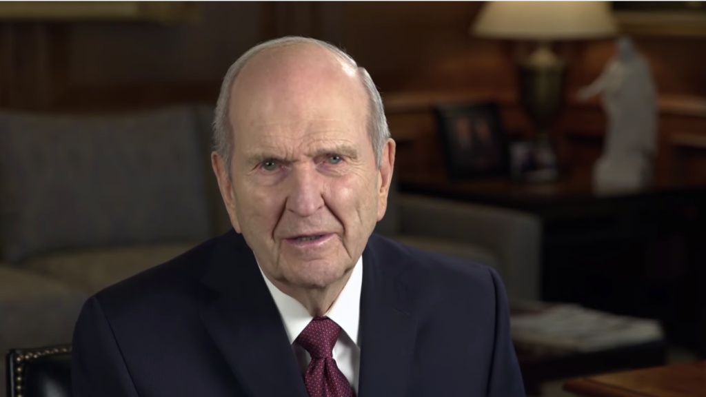 President Russell M. Nelson shared a message of hope regarding the coronavirus on his social media channels on Saturday, March 14.