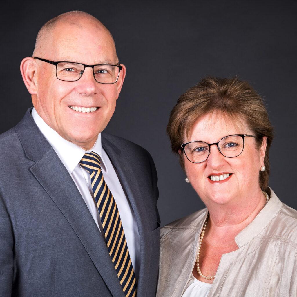 David and Sue Thomson