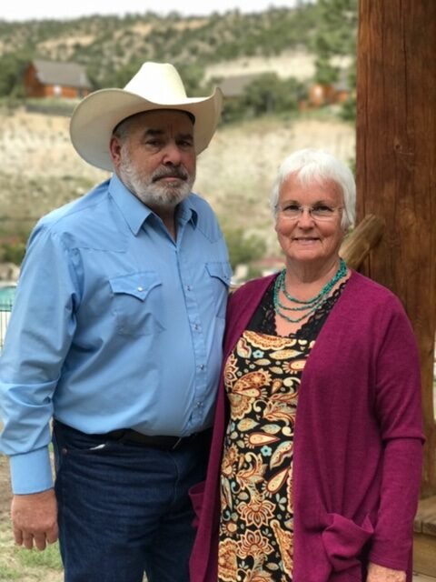 Cindy Snarr, right, is pictured with her husband, Steve Snarr.