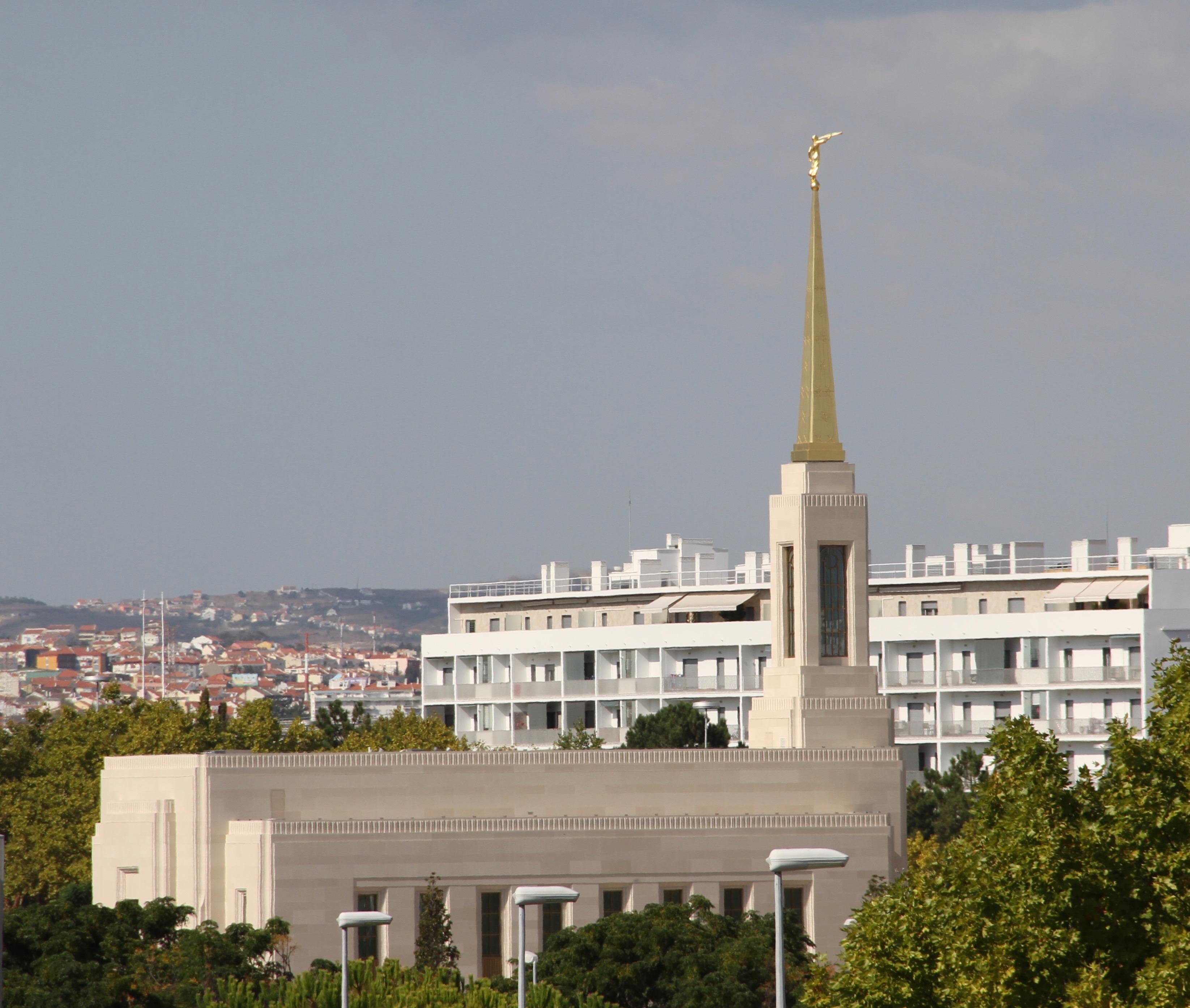 O Templo de Lisboa Portugal no sábado, 14 de setembro de 2019.