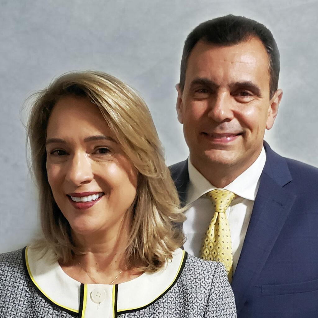 Ariane e Osvaldo Rietra Dias
