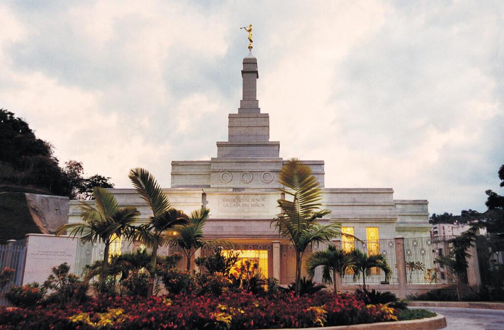 O templo de Caracas Venezuela.