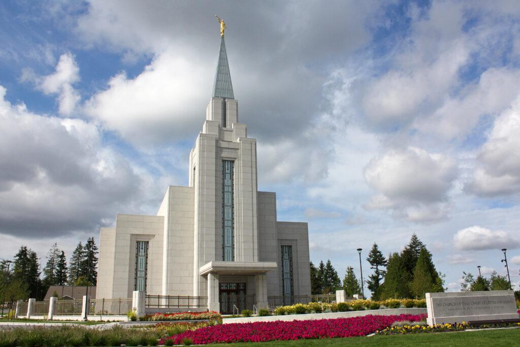 O Templo de Vancouver Colúmbia Britânica