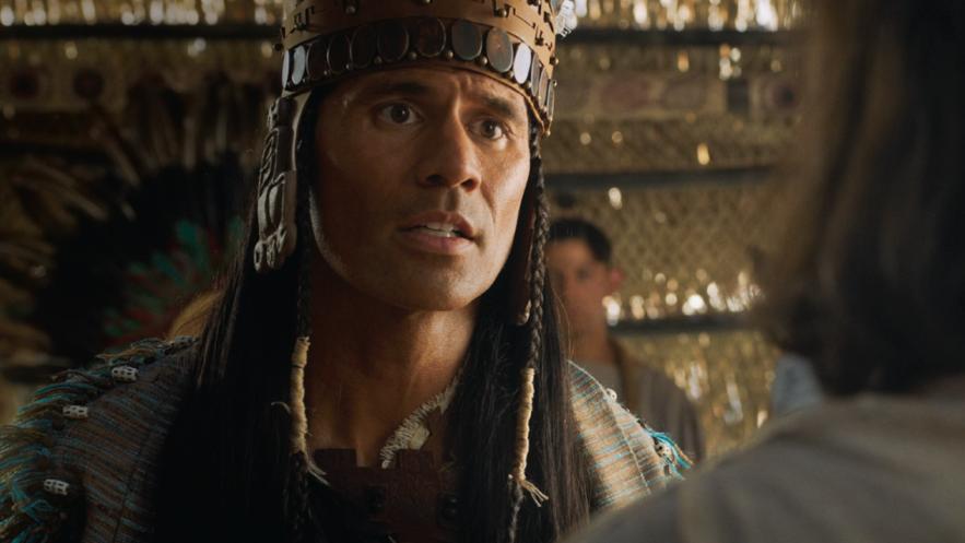 Amon serve e ensina o rei Lamôni (ver Alma 17-19).