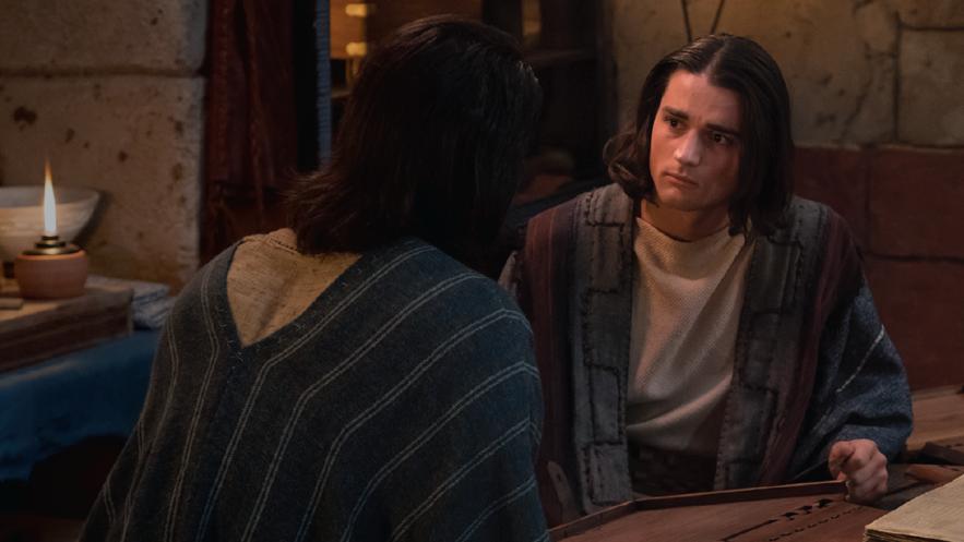 Alma fala com seu filho sobre pecado e redenção por intermédio de Jesus Cristo (ver Alma 36-42).