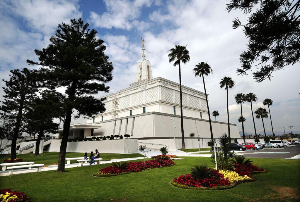 O Templo da Cidade do México, México de A Igreja de Jesus Cristo dos Santos dos Últimos Dias, fotografado na sexta-feira, dia 24 de janeiro de 2020.