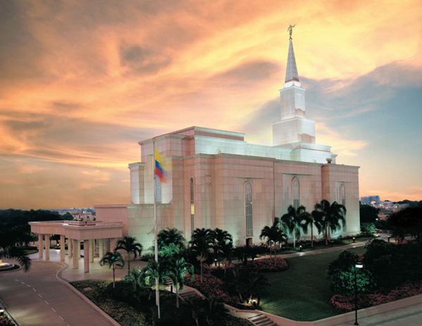 O Templo de Guayaquil Equador.