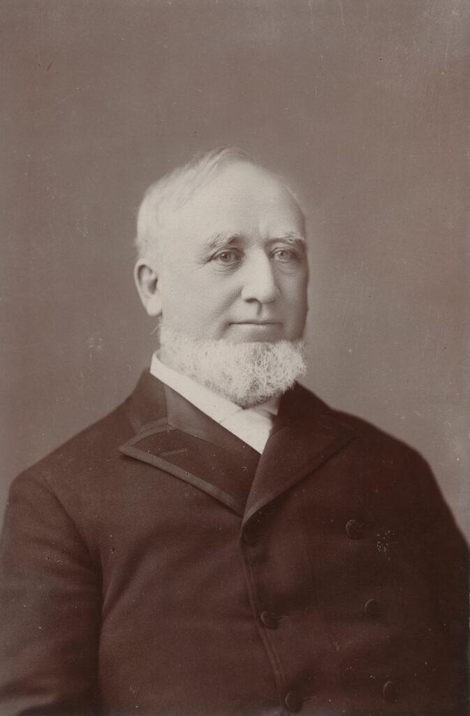 George Q. Cannon, circa 1887.