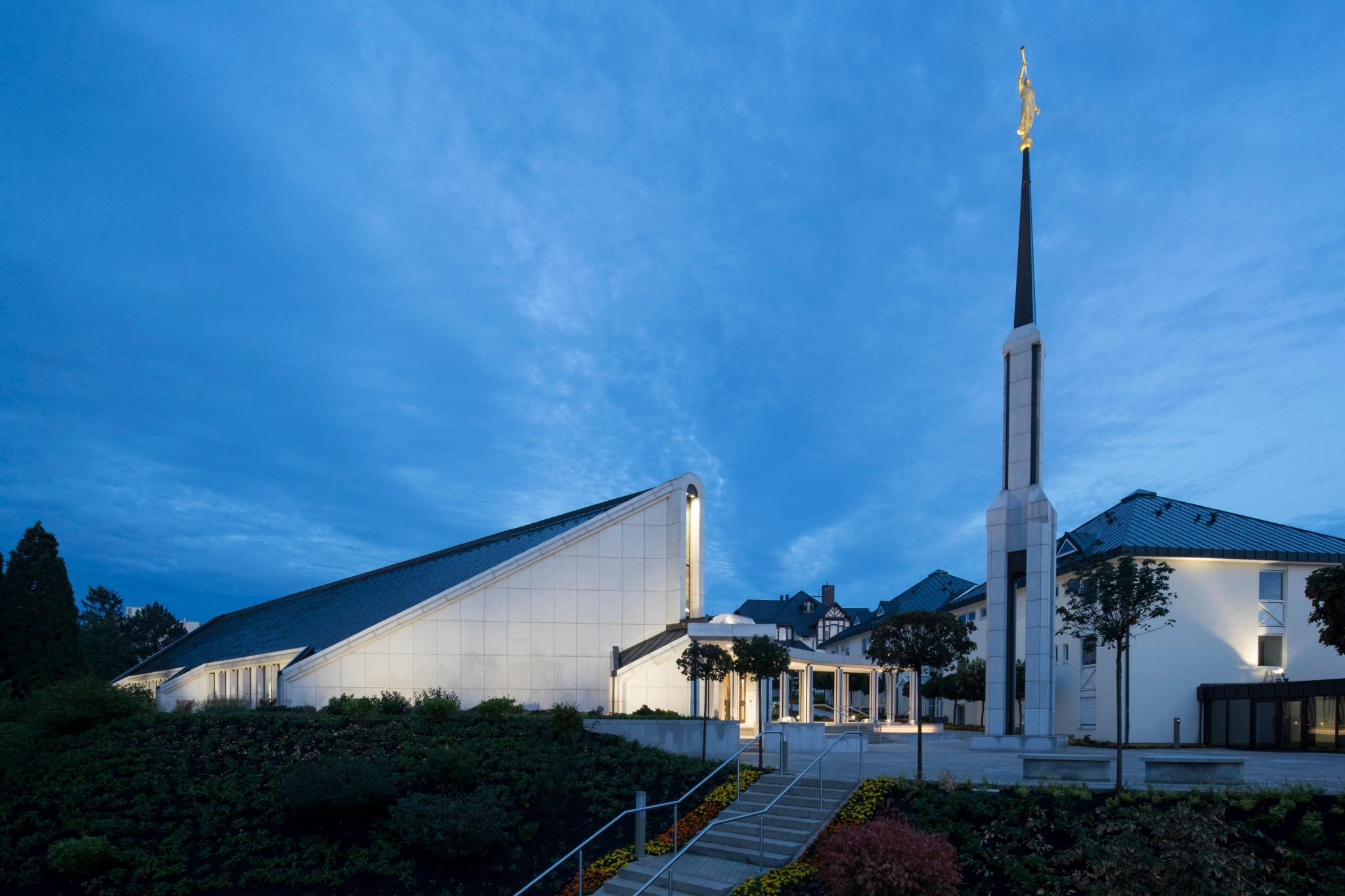 El Templo de Frankfurt Alemania.