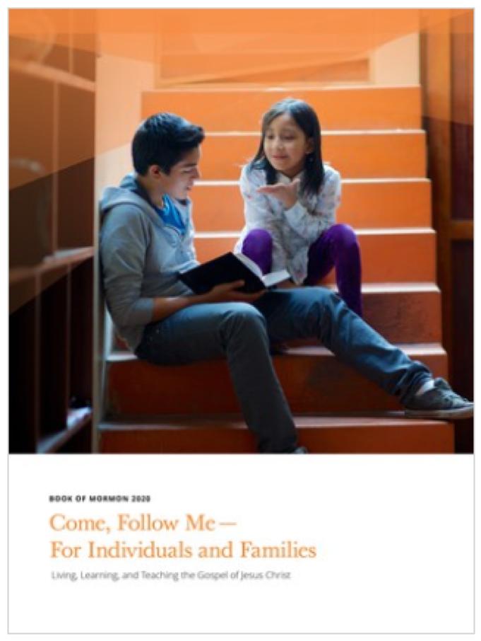 """""""Ven, sígueme"""" para 2020 se centrará en el estudio del Libro de Mormón. Los manuales para uso individual y familiar, así como para la Primaria y la Escuela Dominical, ya están disponibles en línea y en la aplicación de la Biblioteca del Evangelio."""