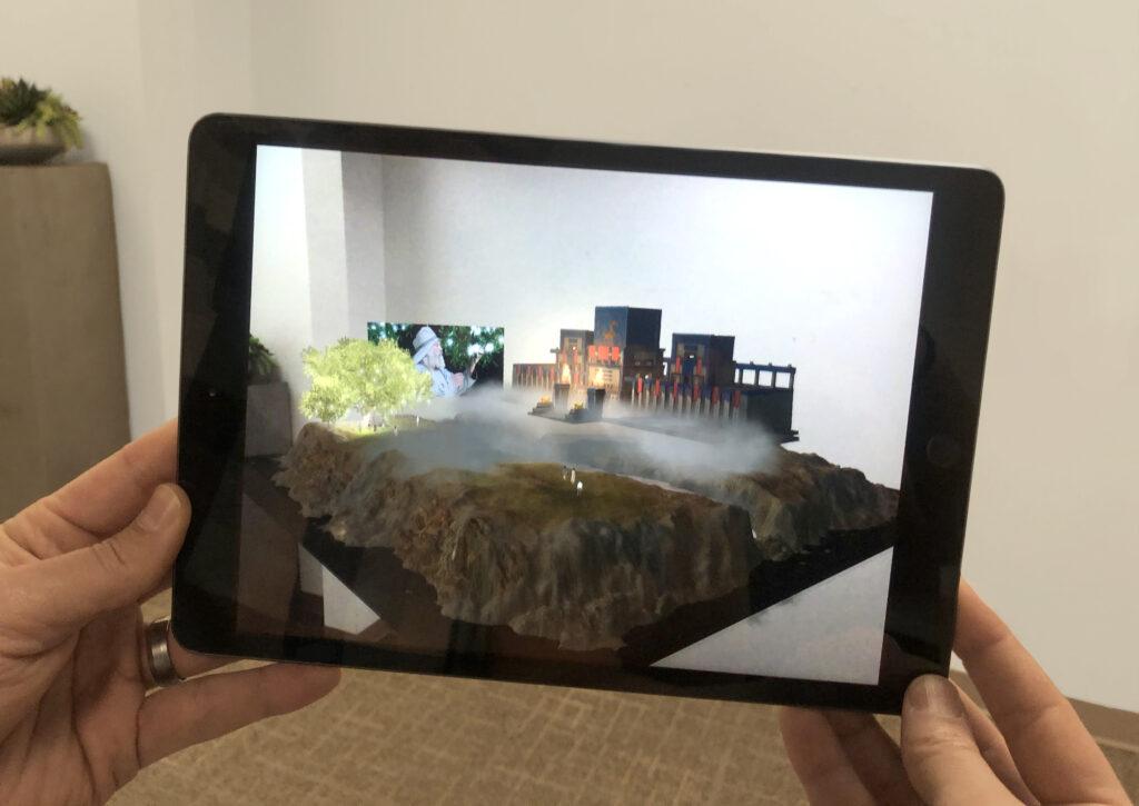 Una nueva aplicación móvil interactiva de la Iglesia utiliza la realidad aumentada para ayudar a los jóvenes y niños a aprender sobre la visión de Lehi sobre el árbol de la vida, que se encuentra en el Libro de Mormón.
