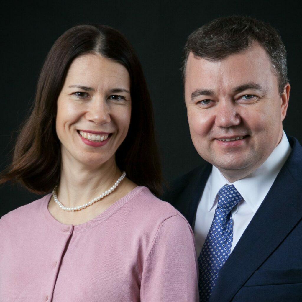 Lidia y Alexey V. Samaykin