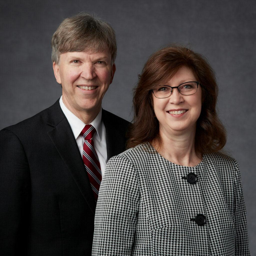 Bruce Farnsworth y Diane Lee Priday