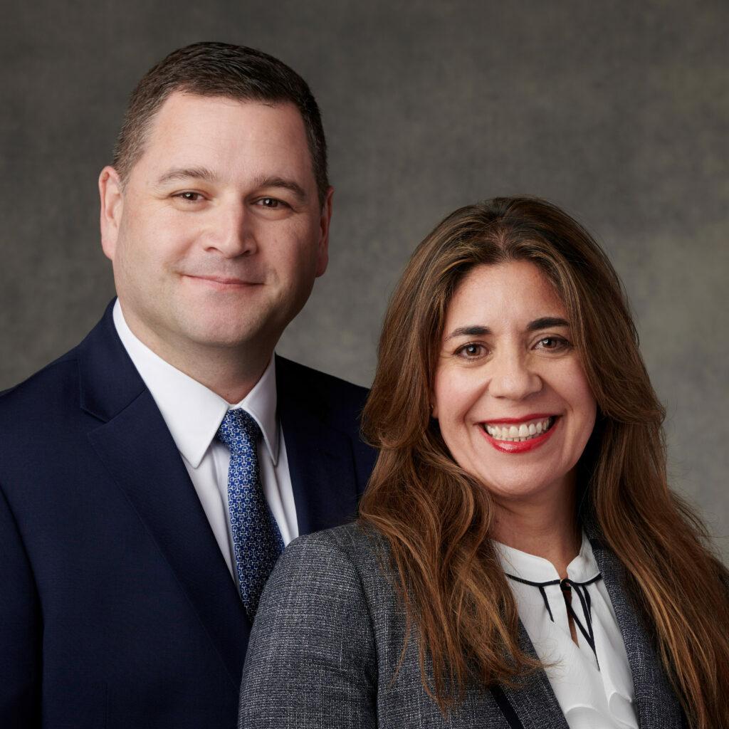 Ricardo P. y Catherine Carrazana de Giménez