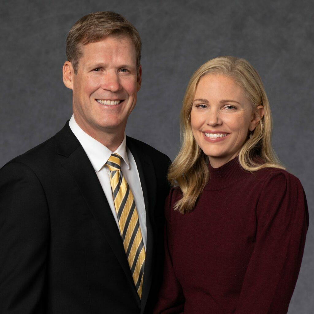 Mark y Sarah Harris