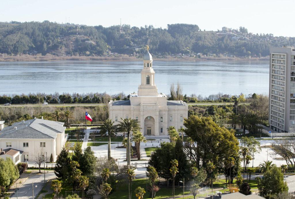 El Templo de Concepción, Chile.