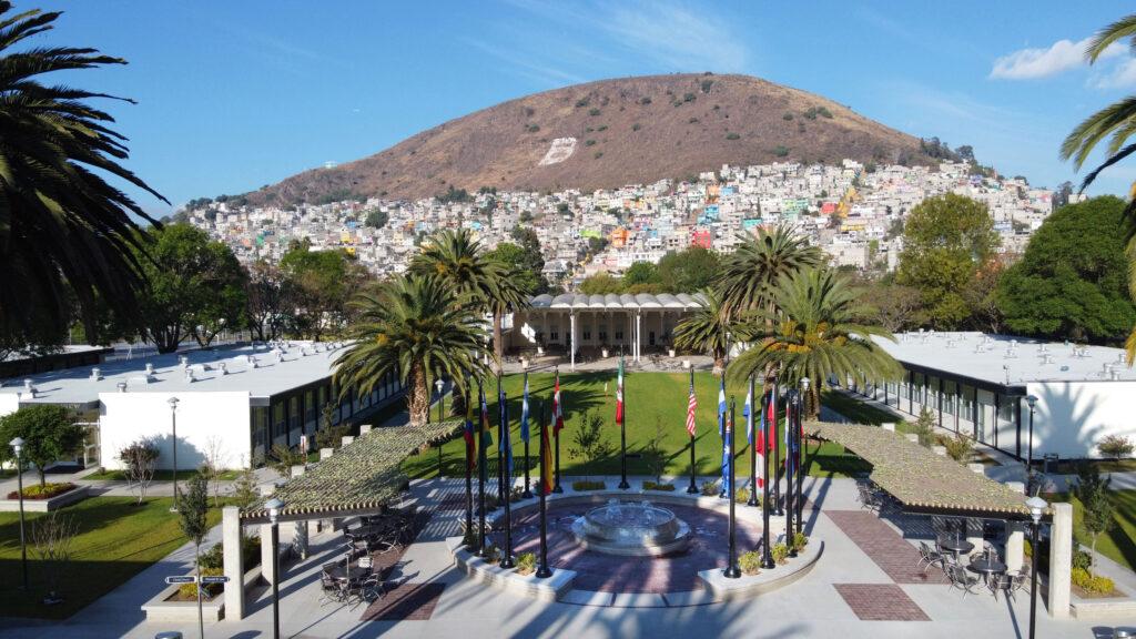 Una fotografía de un área del Centro de Capacitación Misional México de La Iglesia de Jesucristo de los Santos de los Últimos Días que se tomó el sábado, 25 de enero de 2020.