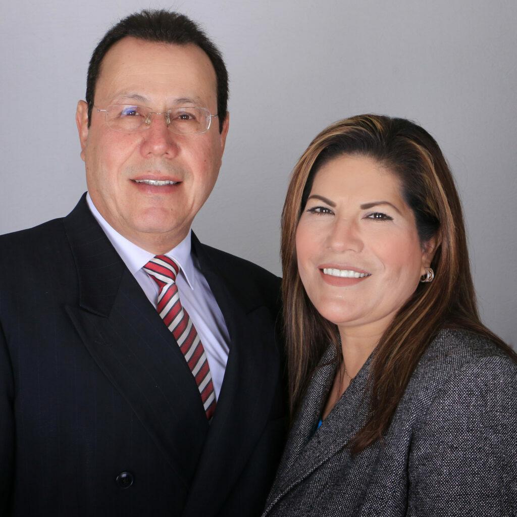 Fco. Javier y Margarita de Fonseca