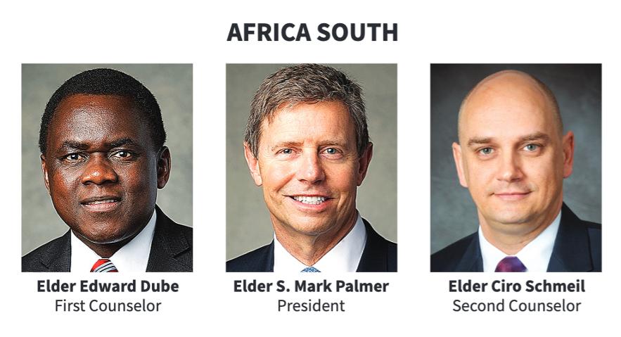 La presidencia del Área África Sur en 2020.