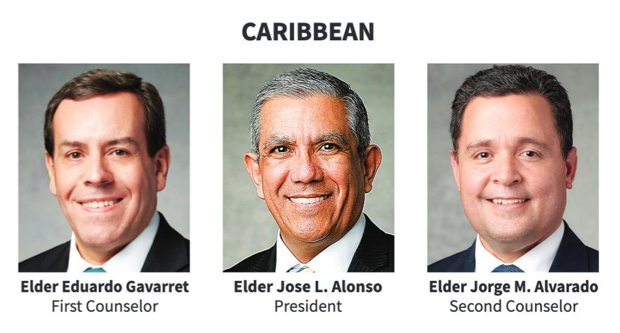 La presidencia del Área Caribe en 2020.