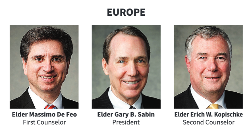 La presidencia del Área Europa en 2020.