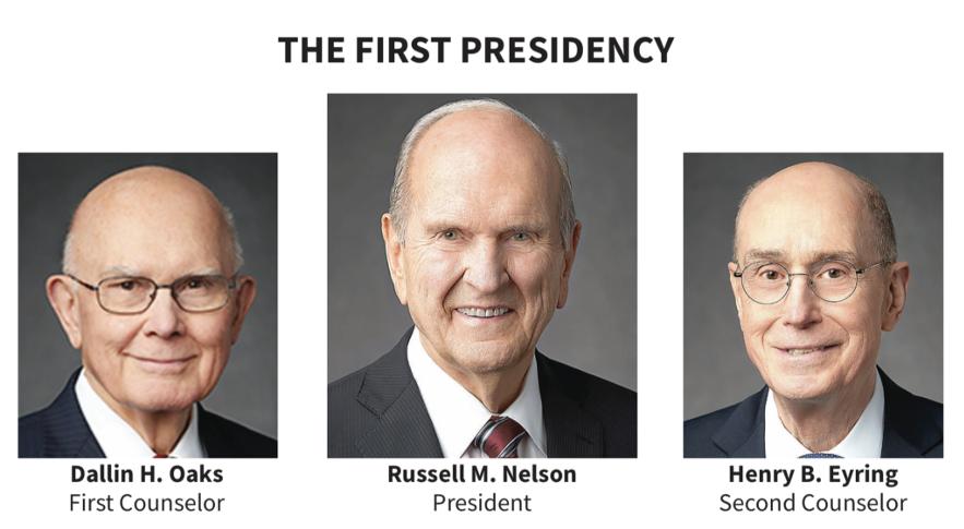 La Primera Presidencia en 2020.