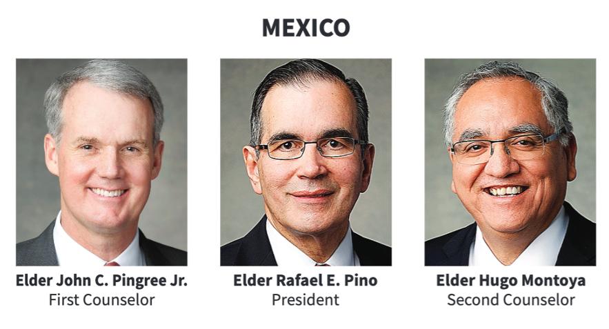 La presidencia del Área México en 2020.