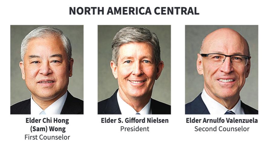 La presidencia del Área Norteamérica Central en 2020.
