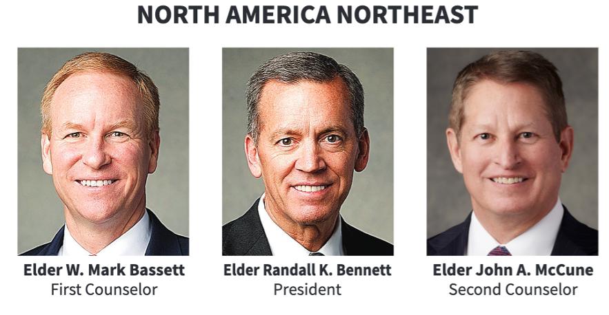 La presidencia del Área Norteamérica Noreste en 2020.