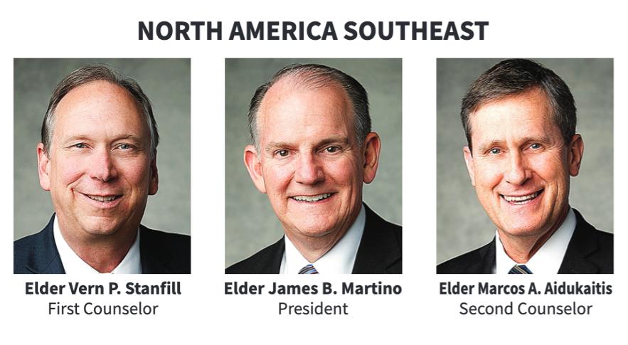 La presidencia del Área Norteamérica Sureste en 2020.