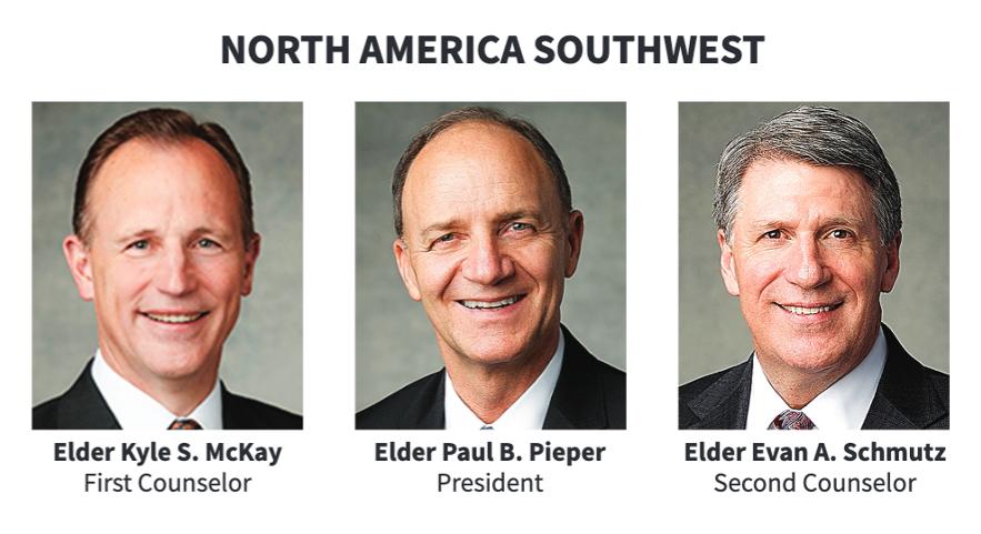 La presidencia del Área Norteamérica Suroeste en 2020.
