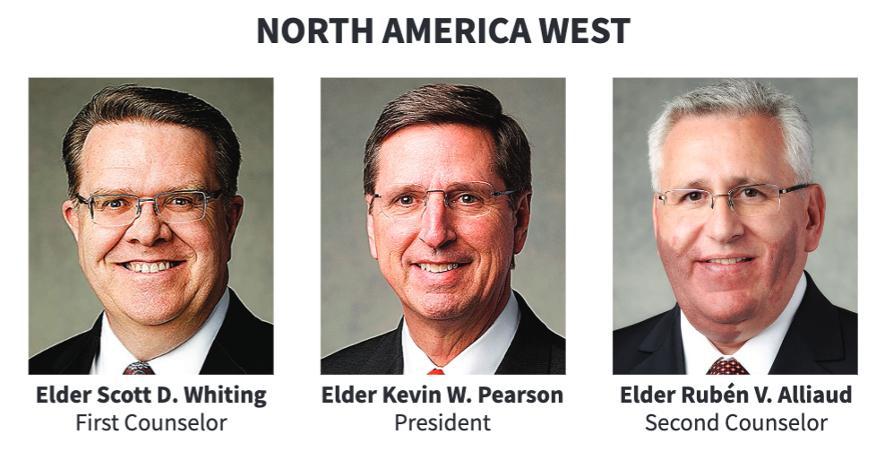 La presidencia del Área Norteamérica Oeste en 2020.