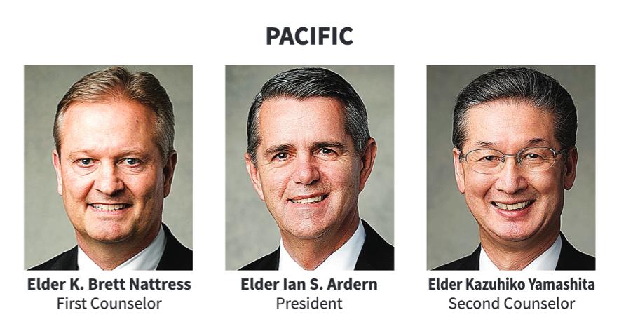 La presidencia del Área Pacífico en 2020.