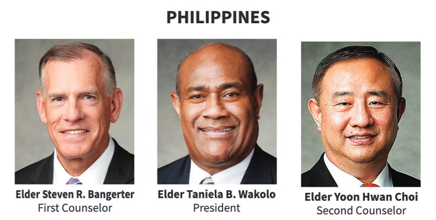 La presidencia del Área Filipinas en 2020.