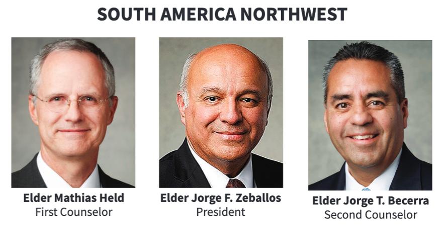 La presidencia del Área Sudamérica Noroeste en 2020.