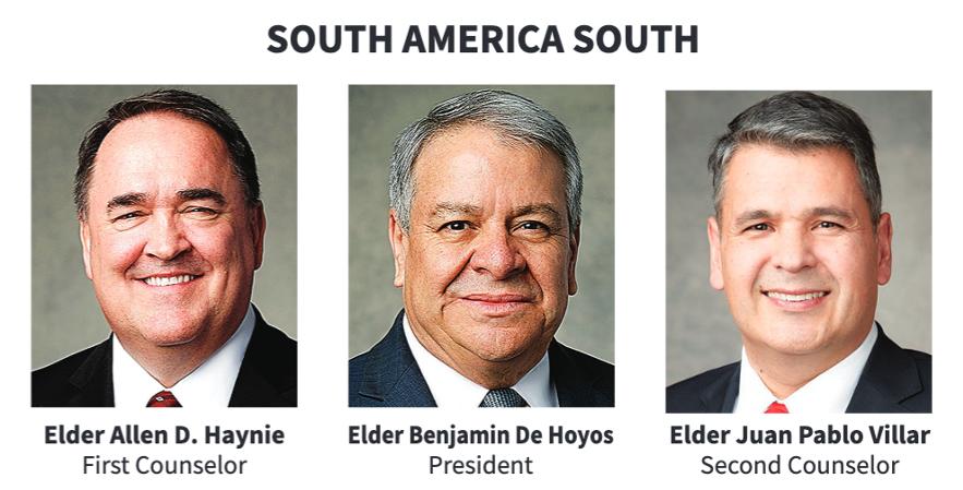 La presidencia del Área Sudamérica Sur en 2020.